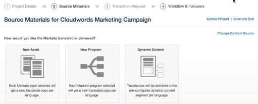 Marketo dynamic content options